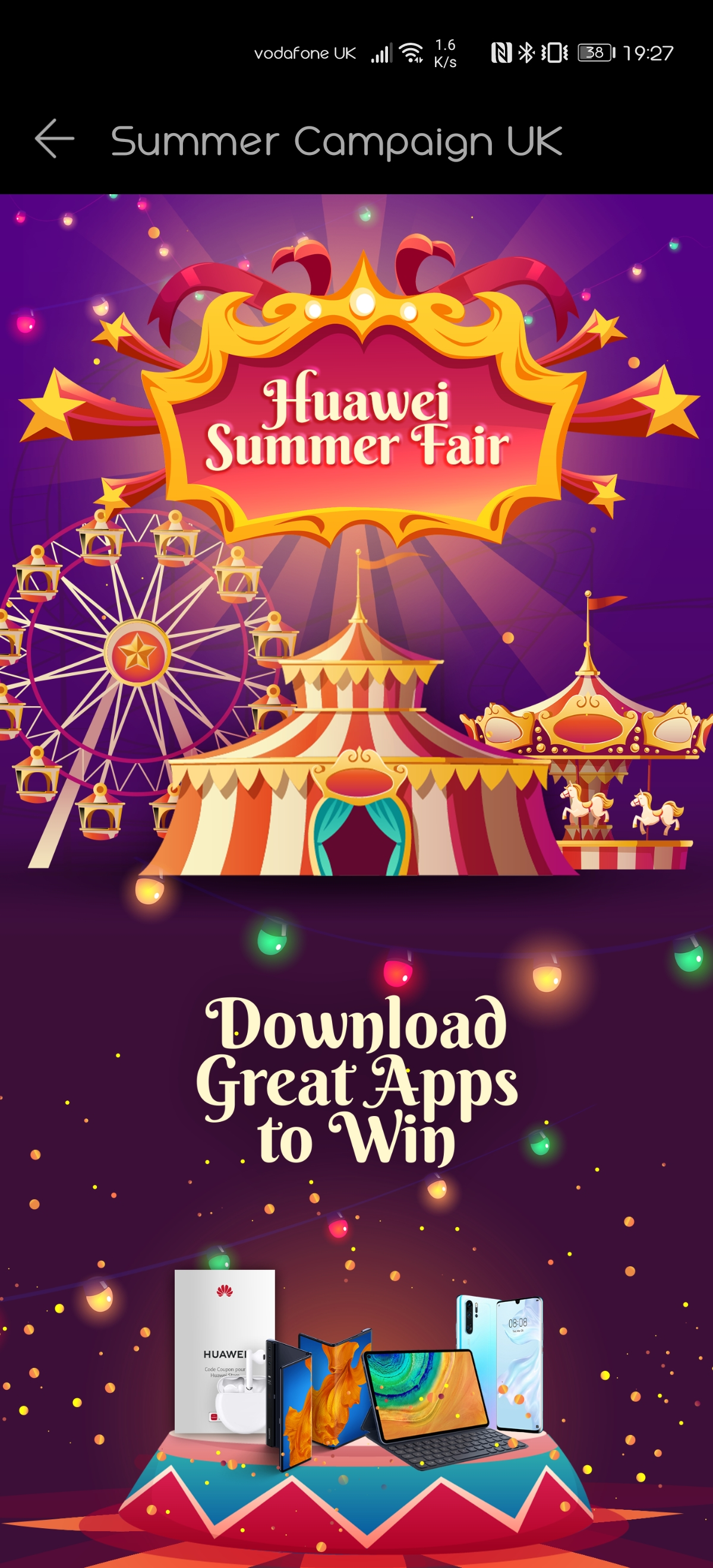 Huawei Community Huawei Uk Summer Fair App Download Competition